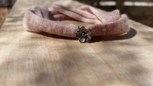 braçalet flor