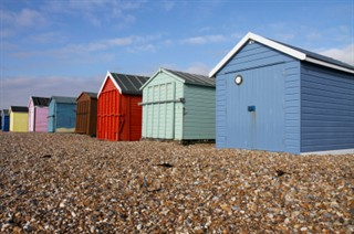 Beach Huts On Hayling Island