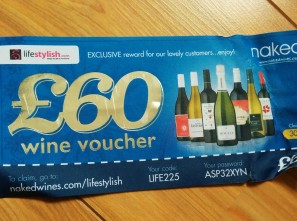 naked wine voucher