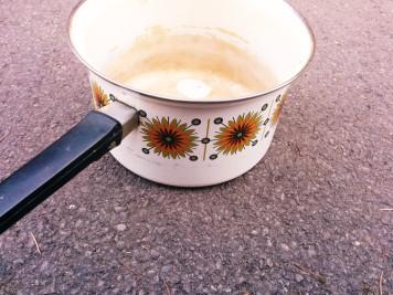old saucepan
