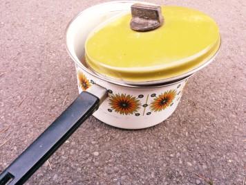 vintage saucepan