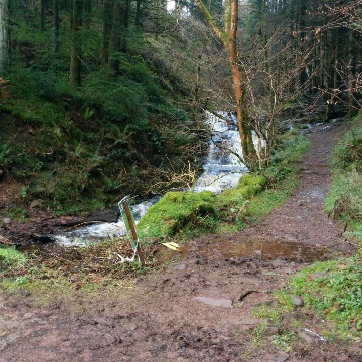 Brecon Beacons waterfall