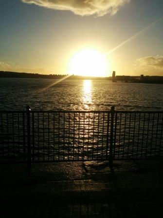 Cardiff sea
