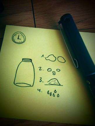 truco frasco cristal
