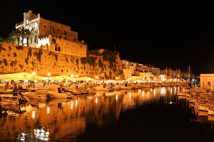 port ciutadella de nit